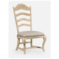 Jonathan Charles Home Limed Acacia Dining Side Chair 495293-SC-LMA-F001 Limed Acacia