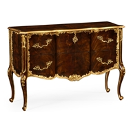 Jonathan Charles Home Mahogany Chest Of Drawer 495318-BMA-GIL Antique Mahogany Brown - NC High Lustre on veneer