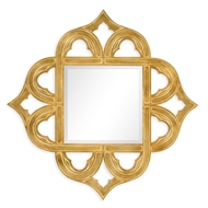Jonathan Charles Wall Decor Gilded Gold-Leaf Mirror 495350