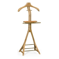 Jonathan Charles Home Oak Valet Stand 495376