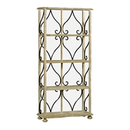 Jonathan Charles Home Four-Tier Tagere