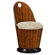 Jonathan Charles Home Feather Inlay Dressing Chair 495576