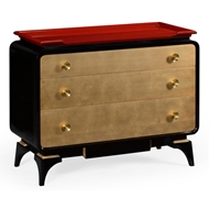 Jonathan Charles Home Emperor Red Chest Of Drawers 495584-EMR Emperor Red