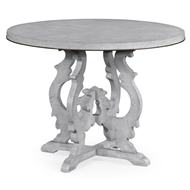 Jonathan Charles Home Grey Mahogany Centre Table 495721-LGM Light Grey Mahogany Finishing