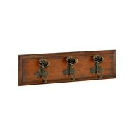 Jonathan Charles Home Three Rose Hooks 495755-22L-BRS26 Dark Bronze Antique with Rub-Through