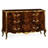 Jonathan Charles Home 6 Drawer Double Dresser In Brown Mahogany 495807-BMA Antique Mahogany Brown - NC High Lustre on wood
