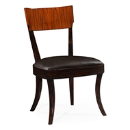 Jonathan Charles Home Art Deco Upholstered Side Chair