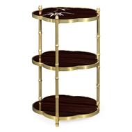 Jonathan Charles Home Bamboo End Table
