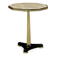 Jonathan Charles Home Nonagon Side Table With Eggshell Top