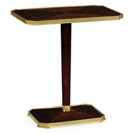 Jonathan Charles Home Macassar Ebony Side Table