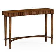 Jonathan Charles Home Allerdale Console (Grey Fruitwood) 530022-GFA WY Grey Fruitwood Finish on Acacia