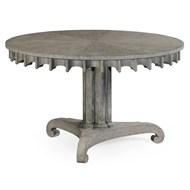 Jonathan Charles Home Longwood Table (Grey Oak) 530023-GYO Greyed Oak finish
