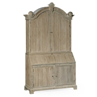 Jonathan Charles Home Alnwick Bureau 530034-WAA Washed Acacia finish