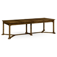 Jonathan Charles Home Hawford Dining Table 530041-KTO Kitchen Oak Finish