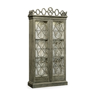 Jonathan Charles Home Bridgemere Cabinet 530078-CHO Charcoal Oak Finish