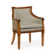 Jonathan Charles Home Belton Armchair 530084-GFA WY Grey Fruitwood Finish on Acacia