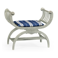 Jonathan Charles Home Single Lucca Bench 530104-CLO Cloudy Oak Finish