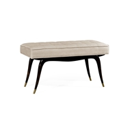 Jonathan Charles Home The Sappello Bench 530145-CRO WY Charcoal Wash on Oak finish