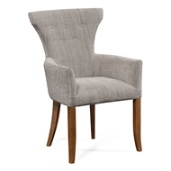 Jonathan Charles Home Gibson Chair 530185-AC-WSC WY Standard Chestnut Finish