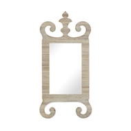 Jonathan Charles Wall Decor Abottsworth Washed Acacia Mirror 530192