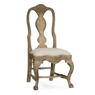 Jonathan Charles Home Jacob Dining Chair 530194-PCD WY antique Country distressed painted finish