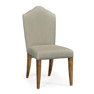Jonathan Charles Home High Back Light Brown Chestnut Side Chair - Mazo 491185-SC-LBC-F001