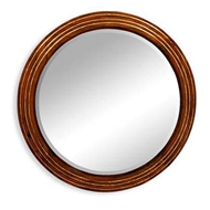 Jonathan Charles Wall Decor Large round eglomise mirror 492155