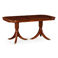 Jonathan Charles Home Regency Dining Table (Fixed Top) 492960-65L
