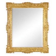 Jonathan Charles Wall Decor French 19th century style bright gilded mirror 493059-GIL