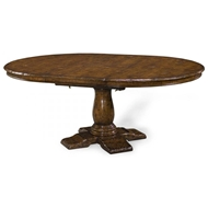 "Jonathan Charles Home 48"" Extending Country Table"
