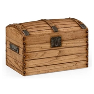 Jonathan Charles Home Yorkshire Oak Trunk with Bow Lid 494432-LYO