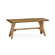 Jonathan Charles Home Natural Oak Tavern Dining Table Large 494437-71L