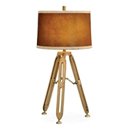 "Jonathan Charles Lighting 32"" Oak Architectural Table Lamp 495137"