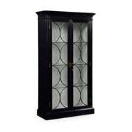 Jonathan Charles Home Formal Black Display Cabinet 495846-BLA