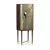 Jonathan Charles Home Handpainted Birds Drinks Cabinet 495893-WRC-LGF