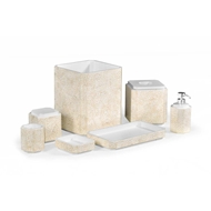 Jonathan Charles Home Dark Cream Eggshell Bathroom 500135-SET-EA005