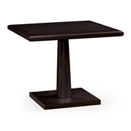 Jonathan Charles Home Square Dark Brown Ash Dining Table 500143-36L
