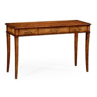 Jonathan Charles Home Satinwood Parquet Console 492054