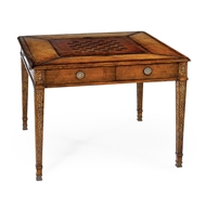 Jonathan Charles Home Square Games Table (Walnut) 492242