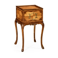 Jonathan Charles Home Tray Lamp Table Walnut And Satinwood 492560