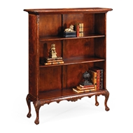 Jonathan Charles Home Low Mahogany Bookcase 492805