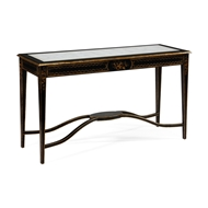 Jonathan Charles Home Black & Eglomise Console 493107