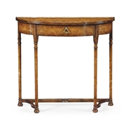 "Jonathan Charles Home ""Gothic"" Burl Console 493232-BWM"