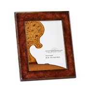 "Jonathan Charles Home 8""X10"" Stepped Crotch Walnut Picture Frame"
