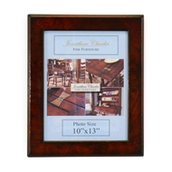 "Jonathan Charles Home 11""X14"" Mahogany Picture Frame - Set of 4"