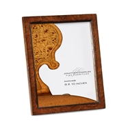 "Jonathan Charles Home 8""X10"" Crotch Walnut Picture Frame"