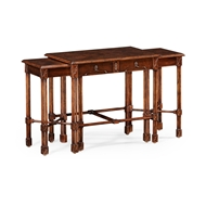 Jonathan Charles Home Chippendale Gothic Nest of Tables 493896