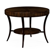 Jonathan Charles Home Art Deco Macassar Ebony High Lustre Centre Table 494010-AMH