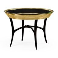 Jonathan Charles Home Stepped Gilded Circular Centre Table 494539