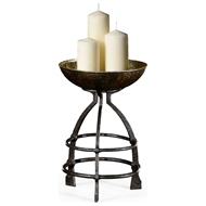 Jonathan Charles Home Wrought Iron Candle Stand 494547